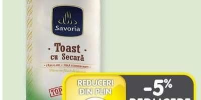 Toast cu secara Savoria