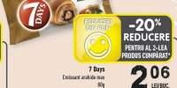 7 Days croissant arahide max