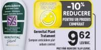 Sampon Gerovital Plant Tratament
