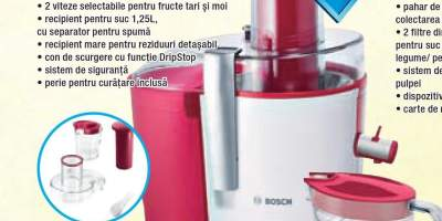 MES25C0 storcator fructe si legume Bosch
