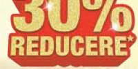 30% reducere la tot sortimentul de fete de masa