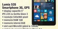Lumia 535 smartphone 3G, GPS