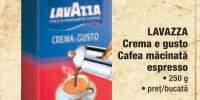 Cafea macinata espresso Lavazza Crema e gusto