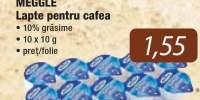 Lapte pentru cafea Meggle