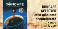 Cafea macinata decofeinizata Doncafe Selected