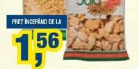 Soia felii/cuburi/granule/noodles Inedit