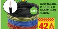 Cablu electric FY 1.5 HO7 V-U