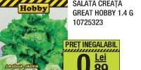 Seminte salata creata great Hobby