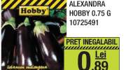 Seminte vinete Alexandra Hobby