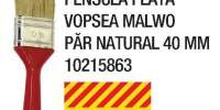 Pensula plata vopsea Malwo par natural