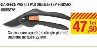 Foarfece pas cu pas singlestep Fiskars