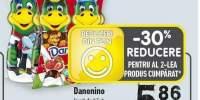 Danonino iaurt de baut capsuni/ banane