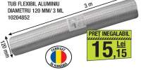 Tub flexibil aluminiu