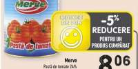 Merve pasta de tomate 24%