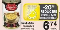 Scandia Sibiu ciorba de burta cu smantana