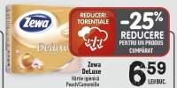 Zewa DeLuxe hartie igienica Peach/Camomile
