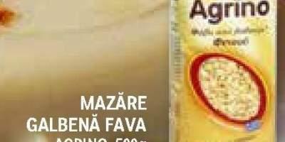 Mazare galbena Fava, Agrino