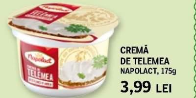Crema de telemea Napolact