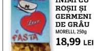 Paste inimi cu rosii si germeni de grau, Morelli