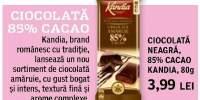 Ciocolata neagra Kandia