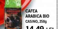 Cafea Arabica Bio, Casino