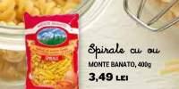 Spirale cu ou Monte Banato