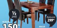 Masa si scaune Fredericia/Brovst