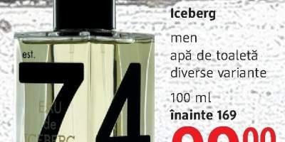 Apa de toaleta Iceberg