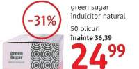 Indulcitor natural Green Sugar, Remedia