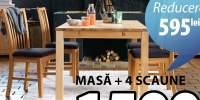 Silkeborg set masa si scaune