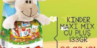 Kinder Maxi Mix cu Plus