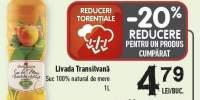 Suc natural de mere Livada Transilvana