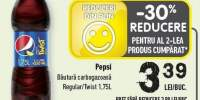 Bautura carbogazoasa Pepsi