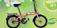 Velors bicicleta pliabila