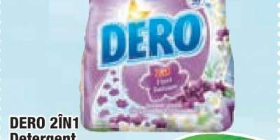 Detergent manual rufe Dero 2 in 1