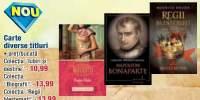 Carte: colectiile 'Iubiri si destine','Biografii', 'Regii blestemati'