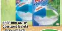 Odorizant toaleta Bref Duo Aktiv