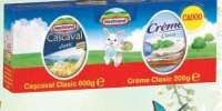 Hochland pachet Cascaval Clasic si Creme Clasic