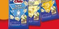Chio Popcorn Microunde Sare, Unt, Cascaval