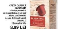 Cafea capsule Indonezia Delhaize
