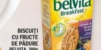 Biscuiti cu fructe de padure Belvita