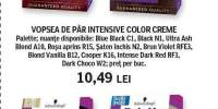 Vopsea de par Intensive Color Creme, Palette