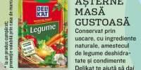 Amestec de legume deshidratate Delikat