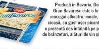 Branza cu mucegai albastru Gran Bavarese, Steffel