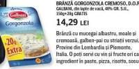 Branza cu mucegai albastru Gorgonzola Cremoso, Galbani