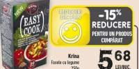 Fasole cu legume Krina