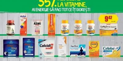 35% reducere la vitamine!