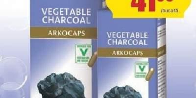 Arkocaps carbune vegetal