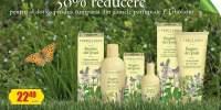 50% reducere pentru al doilea produs cumparat din gamele parfumate L'Elbolario