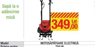 Motosapatoare electrica
